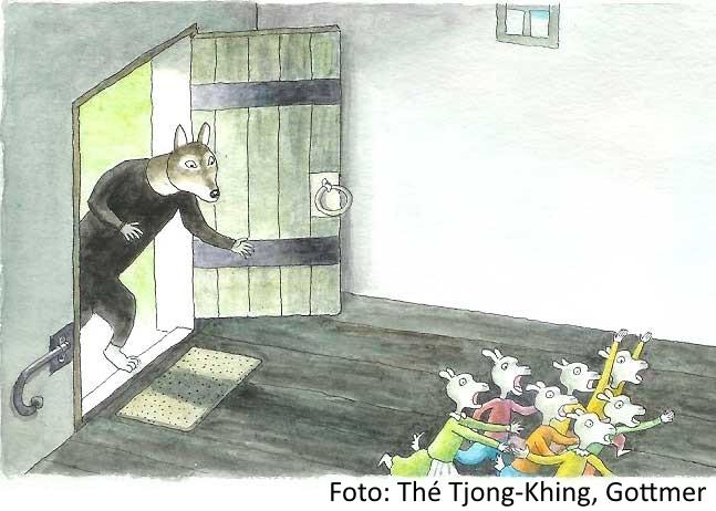 Foto: Meer verhalen van de sprookjesverteller, Thé Tjong-Khing. Uitgeverij: Gottmer